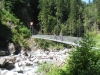 eine lange  Brücke
