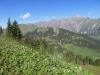 vo Sillerebühl; hi aveygrat 2248m, hi Tierberg 2371m, Seewlihorn 2467m, Sattligrat 2539m, P. 2728m, Albristhorn 2763m