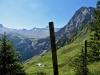 Blick auf die Engstligenalp: Tschingellochtihorn 2735m, Chinbettihore 2691m, Tierhörnli 2894m,Steghorn, re Fitzen