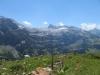 Gletscherhorn 2943m, Wisshorn 2948m, Rohrbachstein 2950m, Laufbodenhorn 2701m,  P.2819m, Mittaghorn 2686m