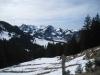 Sicht vom Hohberg 1485m: Berccaschlund und Schwarzsee