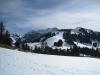 Sicht vom auf dem Aettenberg 1539m; vo Hohmattli;  Schafarnisch 2107m,  Chuearnisch 1826m,  Widdergalm 2174m,  Stierengrat  2126m