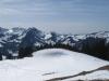 Sicht vom Aettenberg 1539m; Combiflue 2045m,  Schopfespitz 2104m, Pte. de Balachaux Les Recardets 1922m