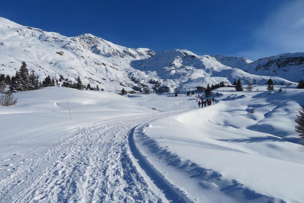 Winterstimmung auf der Alp Flix