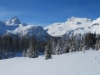 Panorama: Pkt. 2792m, Piz Platta, 3392m, Täligrat 3143m, Usser Wissberg 3053m, Piz Forbesch  3226m, Piz Arbalatsch 3203m,  Piz Spegnas 2620m