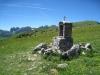 ein Bethäuschen auf Alp Sigel
