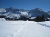 Furggahorn 2727m,  Maienfelderfutgga 2440m, Amselfluh 2768m, Schiesshorn 2605m