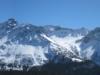 Panorama Arosa:  Davoser  Weissfluh 2843m,  Schiahorn 2709m, Chüpfenflue 2658m, Mederger Flue 2706m, Schafgrind 2635m, Tiejer Flue 2781m, Furggahorn 2727m,  Maienfelderfutgga 2440m, Amselfluh 2768m, Schiesshorn 2605m, Valbellahorn 2764m, Valbella Furgga 2554m, Sandhubel 2763m,  Schaffrügg, Schaftällihorn 2830m