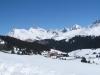 Maran;  Davoser  Weissfluh 2843m,  Schiahorn 2709m, Chüpfenflue 2658m, Mederger Flue 2706m