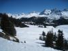 Davoser  Weissfluh 2843m,  Schiahorn 2709m, Chüpfenflue 2658m, Mederger Flue 2706m, Schafgrind 2635m, Tiejer Flue 2781m, Furggahorn 2727m