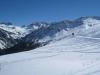 der Winterwanderweg: Schiesshorn 2605m, Valbellahorn 2764m, Valbella Furgga 2554m, Sandhubel 2763m,  Schaffrügg, Schaftällihorn 2830m