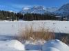 am Oberen See in Arosa; Mederger Flue 2706m,Tiejer Flue 2781m, Furggahorn 2727m, Amselfluh 2768m