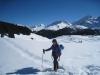 Marianne; Davoser  Weissfluh 2843m,  Schiahorn, Chüpfenflue 2658m, hi Schafgrind 2636m, Mederger Flue 2706m,   Tiejer Flue 2781m