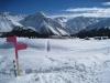 Sicht auf Maran; Schiesshorn 2605m, Valbellahorn 2763m