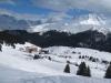 Blick auf Maran; Maienfelderfurgga 2440m,  Amselfluh 2768m, Schiesshorn 2605m,  Valbellahorn 2764m