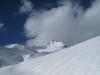 Blick auf das Weisshorn  2653m