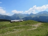 Prätschalp: Stelli 2622m, Zenjiflue, 2686m,  Davoser  Weissfluh 2843m,  Schiahorn 2709m, Chüpfenflue 2658m, Mederger Flue 2706m