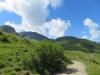 Sicht gegen das Brüggerhorn und den Ochsenberg