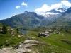 Alp Hopsche mit: Wasenhorn 3245m, Mt. Leone 3403m
