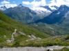 Wasenhorn 3245m, Mäderhorn 2852, Monte Leone 3552m, Simplon Breithorn, Hübschhorn 3192m