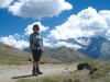 Marianne auf der Üsseri Nanzlücke  2602m; Monte Leone