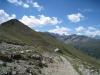 Abstieg von der Üsseri Nanzlücke  2602m