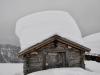 tief verschneite Belalp 2094m