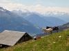 auf Steibeläger 2200m; Mischabelgruppe, Weisshorn Gruppe