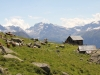 Grieschchumma 2350m; Schwarzhorn, Scherbadung, Gischihorn, Helsenhorn, Vord. Helse, Monte Leone, Wasenhorn