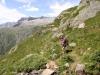 Fusshörner; unterwegs zum Gletscherblick