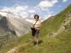 Marianne; Finsteraarhorn 4274m, und Fieschergletscher