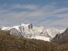 Grosses Fusshorn 3672m, Zenbächenhorn 3386m, hi Geisshorn 3740m, Sattelhorn 3724m