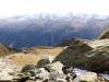 Rappenhorn 3158m, hi  Turbhorn 3245m,  Ober Rappenhorn 3176m, Pkte: 3128m,3124m,3118m, Holzjihorn 2887m