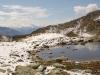 namenloser See vor Honeggerhorn: Mischabelgruppe, Matterhorn