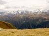 Merezebachschije 3027m, Klein Blinnenhorn 3316m,  Blinnenhorn 3373m,P. 3255m, P. 3187m, Rappenhorn 3158m, hi  Turbhorn 3245m,  Ober Rappenhorn 3176m,