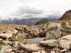 am Spielsee 2397m; Rappenhorn 3158m, hi  Turbhorn 3245m,  Ober Rappenhorn 3176m, Pkte: 3128m,3124m,3118m, Holzjihorn 2887m, Pkt. 2834m,  langer Grat