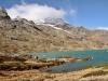 am Lago Bianco; Piz d'Arlas 3375m, Corn d'Arlas 2924m, Saas Queder 3066m, Kt. 3046m