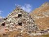 Sassal Mason 2355m; die Steinkegel, die Cröts