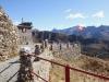 die schöne Terrasse auf Sassal Mason 2355m