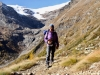 Marianne mit Piz Varuna 3453m, Piz Palü und Palü Gletscher