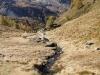 Piz Varuna 3453m, Piz Palü und Palü Gletscher: der Weg hinunter von Sassal Mason