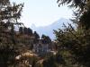 Villa Chastel vor Matterhorn und Weisshorn;  auf der Riederfurka