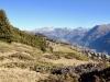 Sicht auf die Riederalp;  mi Ernergalen und re Eggerhorn