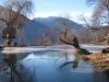 Teich  hinter dem Haus bei Pkt. 1046m