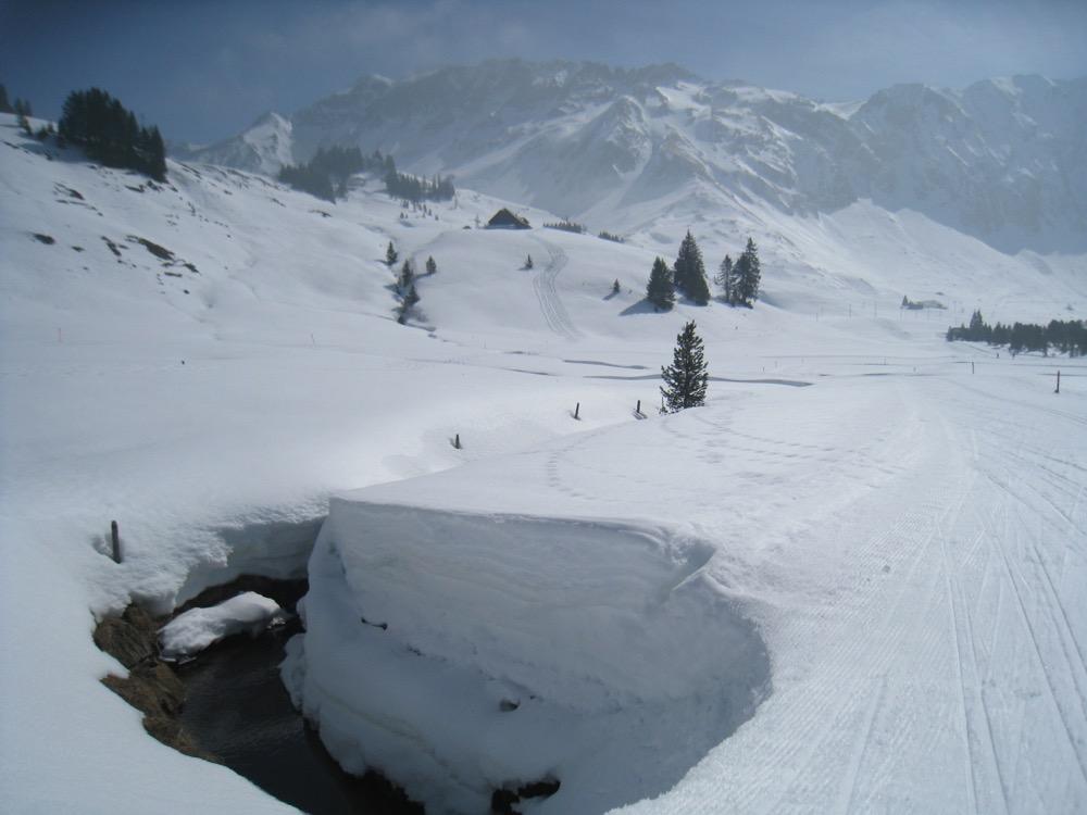 Brienzerrothornkette; Schneemauern