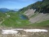 Blick zur  Eisee Hütte, Eisee und hi Pilatus, Rigi