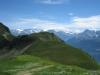 re Ritzlihorn; der Höhenweg zum Brünig;