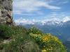 Blick vom Gipfel der Brienzer Rothorns; Blick gegen Engelberger Alpen