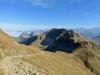 Sicht beim Aufstieg zum Brienzer Rothorn, Schafnase, Rossflue, Arnihaggen
