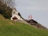 Blick zurück auf St. Jost